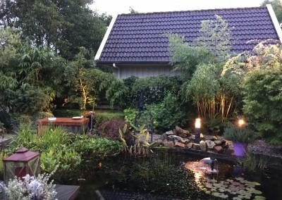 Tuin verlichting woning Heerenveen 1