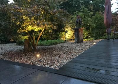 Tuin verlichting woning Heerenveen 2
