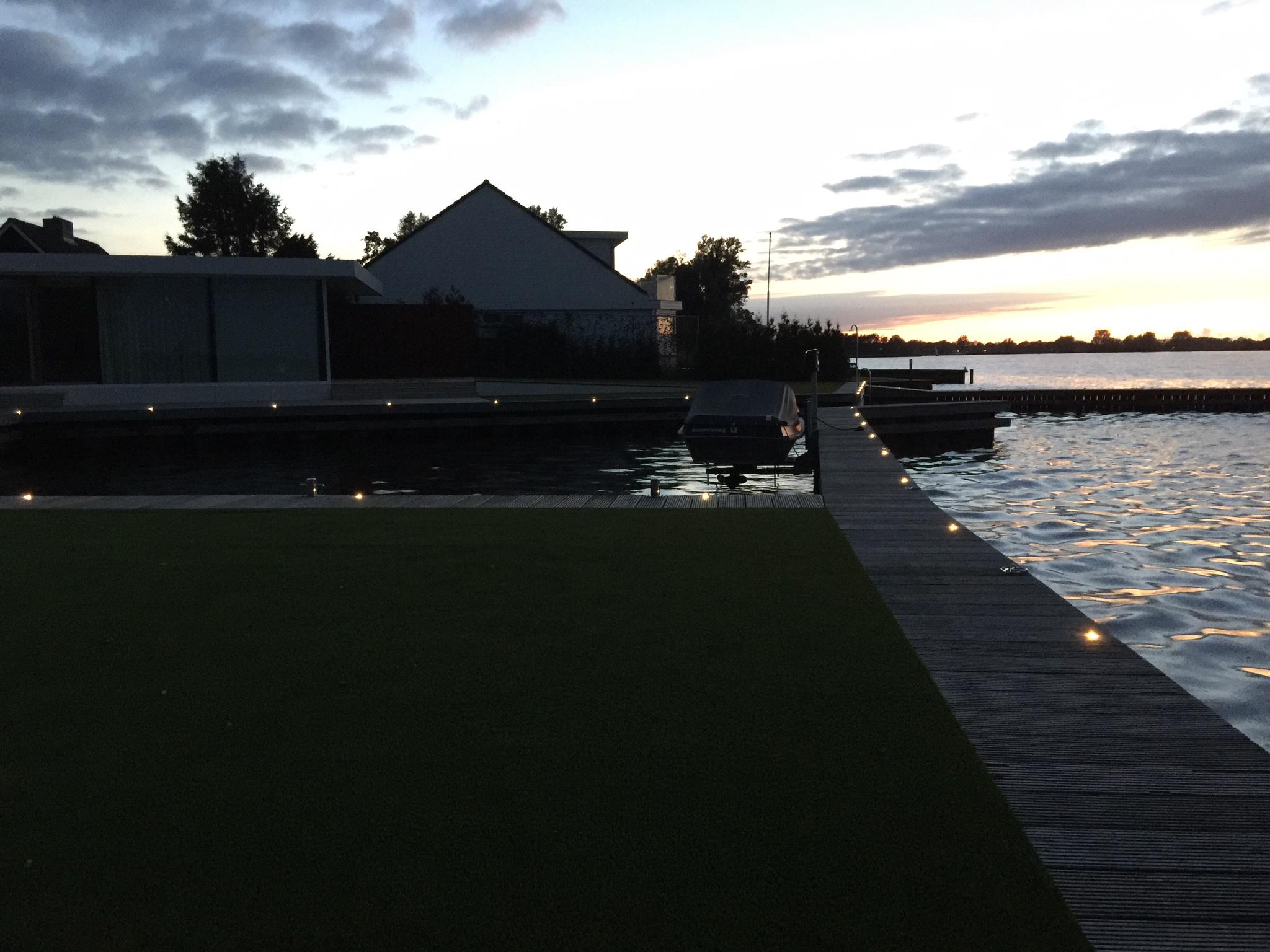Vakantie woning Friesland steiger verlichting 10 - Paul Rattink ...