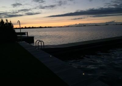 Vakantie woning Friesland steiger verlichting 11