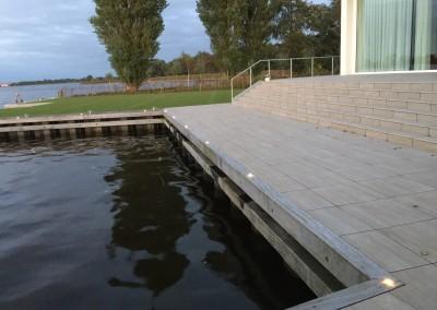 Vakantie woning Friesland steiger verlichting 4