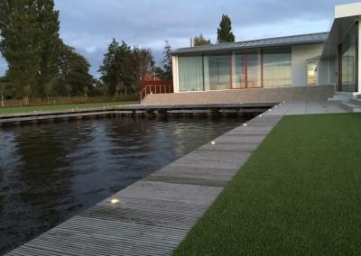 Vakantie woning Friesland steiger verlichting 6