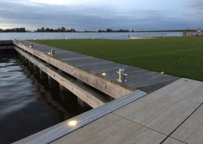 Vakantie woning Friesland steiger verlichting 7