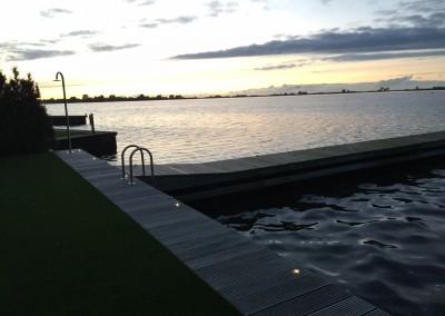 Vakantie woning Friesland steiger verlichting 8