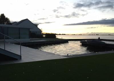 Vakantie woning Friesland steiger verlichting 9